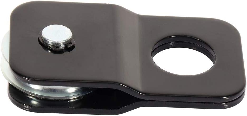Aintier Snatch 4pcs 4Ton Heavy Duty Block Pulley Hoist for 1//4 5//16 Diameter Rope