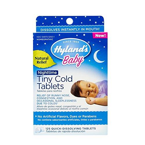 Hylands Nighttime Tablets Congestion Symptoms