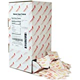 Domino Pure Cane NON-GMO Granulated Sugar, 0.10 Ounce (2.83 Gram) Packets, Pack of 500 in Dispenser Box