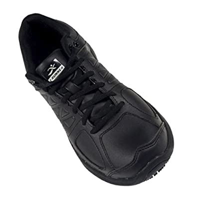 Pro Series Men's - Slip Oil Skid Resistance Extra Depth Shoe: Black 15.0 X-Wide (4E) Lace