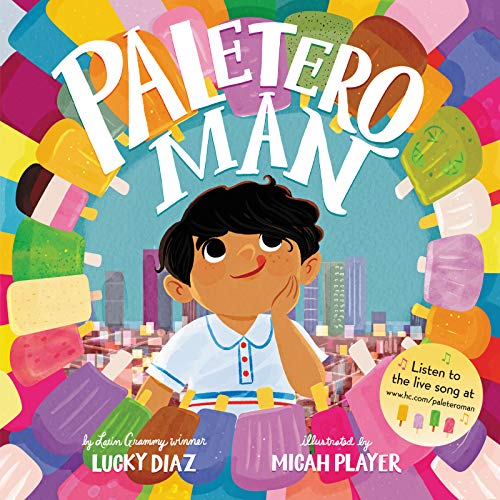 Book Cover: Paletero Man