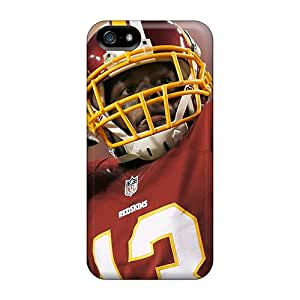 Perfect Hard Phone Covers For Iphone 5/5s (ZZe19437cCRQ) Customized Trendy Washington Redskins Image