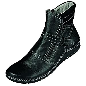 Miccos Shoes womens Zip Boots anthracite size 41.0 EU