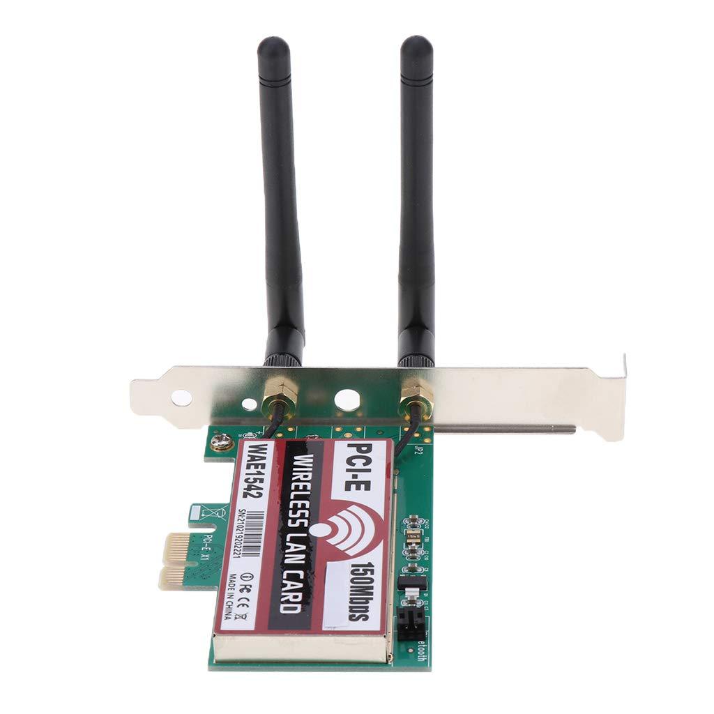 Shiwaki 600M PCI-E X1 Ordenador De PC 2.4 / 5GHz Banda ...
