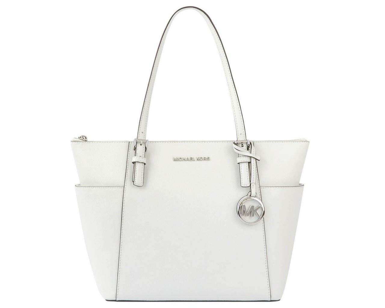 Jet Set Item East/West Top Zip Tote Optic White One Size