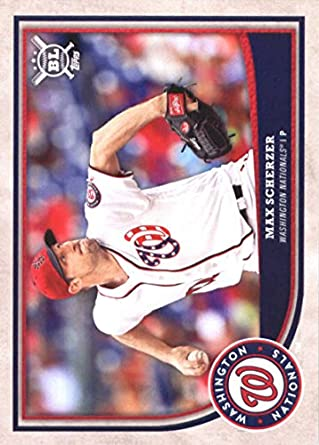 cf8ad7540 2018 Topps Big League  240 Max Scherzer Washington Nationals Baseball Card  - GOTBASEBALLCARDS