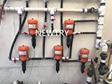 NEWTRY Water Powered Dosing Pump Mix Chemical