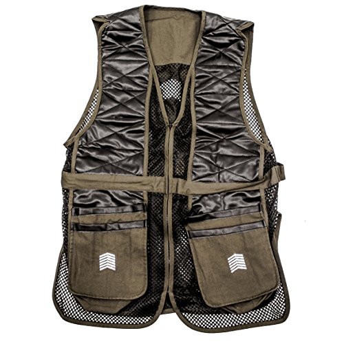 Vest Cloth Shooting (Challenger Outfitters Men's Shooting Vest, Sporting Clay Pigeon Trap Skeet, X-Large)