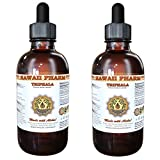 Triphala Liquid Extract, Organic Triphala Blend Tincture Supplement 2x4 oz