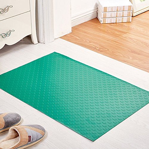 Entrance door mats/Hallway toilet mat/Kitchen bathroom mat/PVC plastic mat-E 60x90cm(24x35inch)
