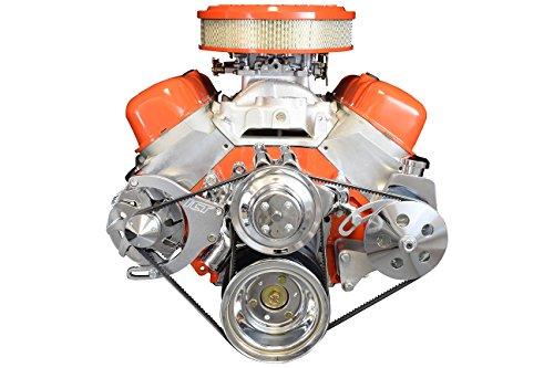 BBC Alternator/Power Steering Pump Accessory Drive Bracket Kit 551490 ()