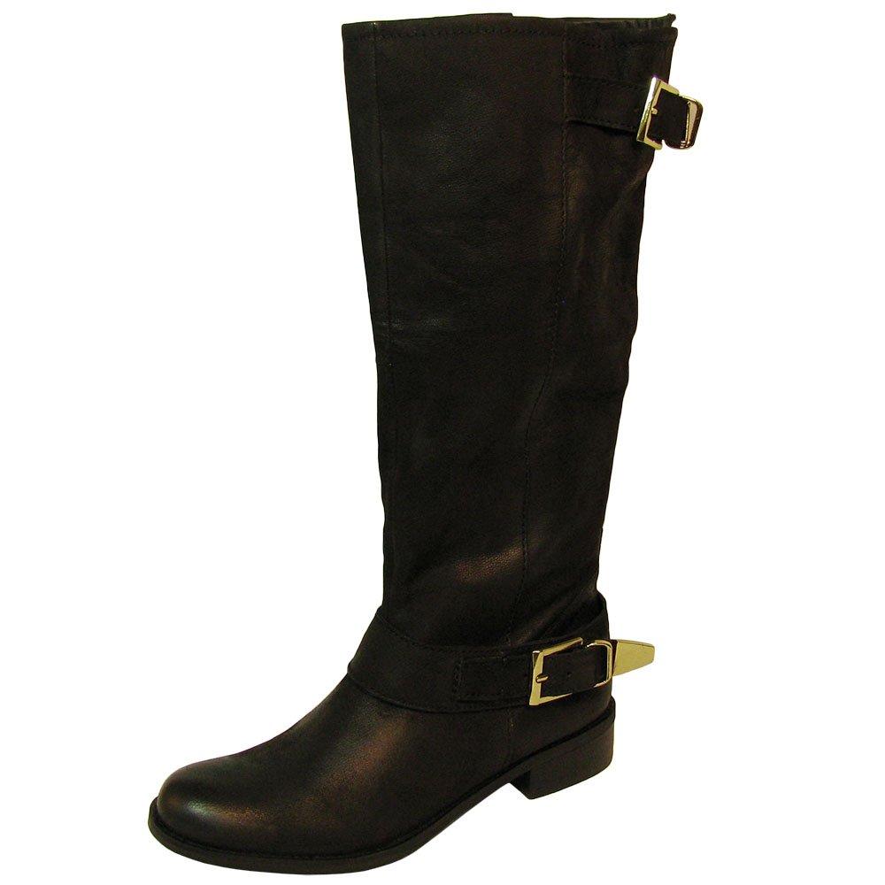 Steve Madden Women's Suspekt Boot,Black Leather,6 M US