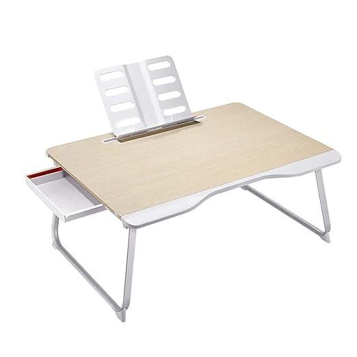 BJYG Mesa de Cama, Mesa Plegable para computadora, Mesa para ...