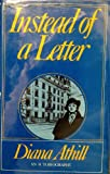 Instead of a Letter, Diana Athill, 0881840408