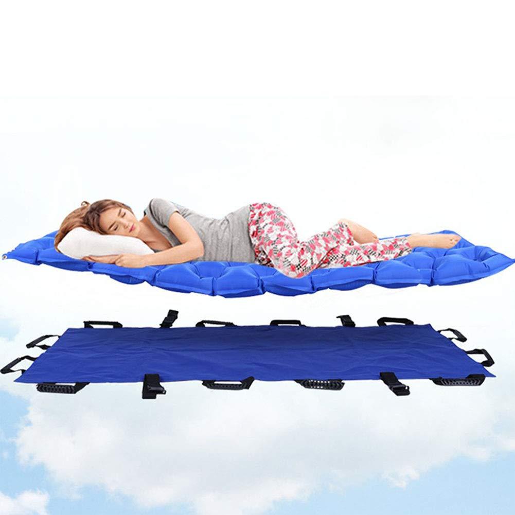 Anti-decúbito colchón inflable vuelta sobre transpirable cuidado de ancianos inflatables suave Camilla aire cama anti-Decubituses colchón camas para ...