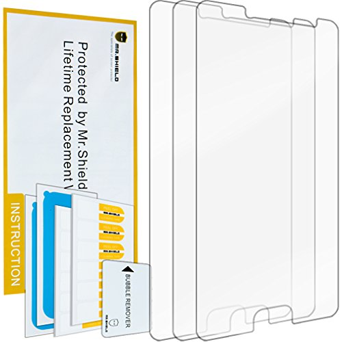 Price comparison product image Mr Shield For Samsung Galaxy C5 Anti Glare [Matte] Screen Protector [3-PACK] with Lifetime Replacement Warranty