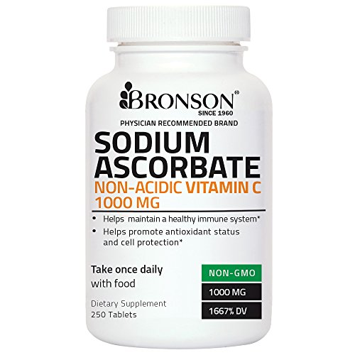 Bronson Sodium Ascorbate Vitamin Tablets