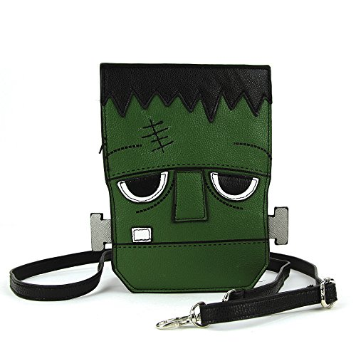 Sleepyville Critters - Frankenstein Crossbody Bag in