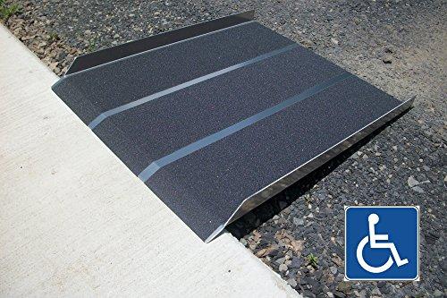 New Aluminum Solid Wheelchair Ramp 3ft X 32
