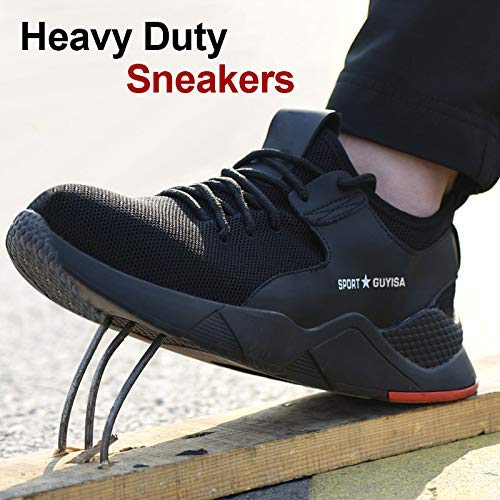 Heavy Duty Sneakers Anti Slip Soft Breathable Safety Protective Shoes Trainers
