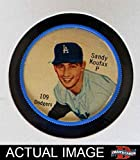 1962 Salada Coins # 109 Sandy Koufax Los Angeles Dodgers (Baseball Card) Dean's Cards 5 - EX Dodgers