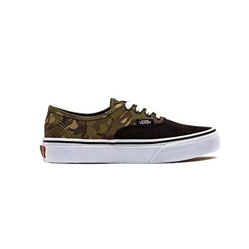 c40657f453 Vans 2 Tone Camo Authentic Kids Canvas Trainers Black Camouflage - Kids 11