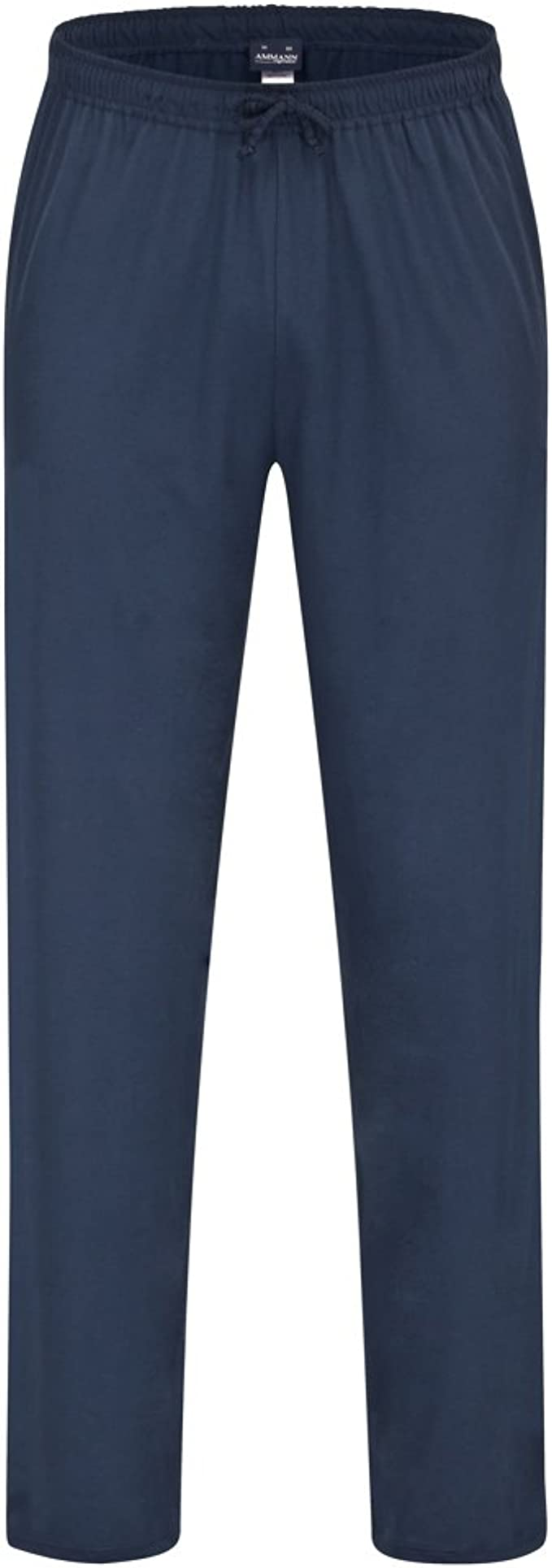 AMMANN Herren Schlafanzug Shirt langarm und V-Ausschnitt Mix /& Match