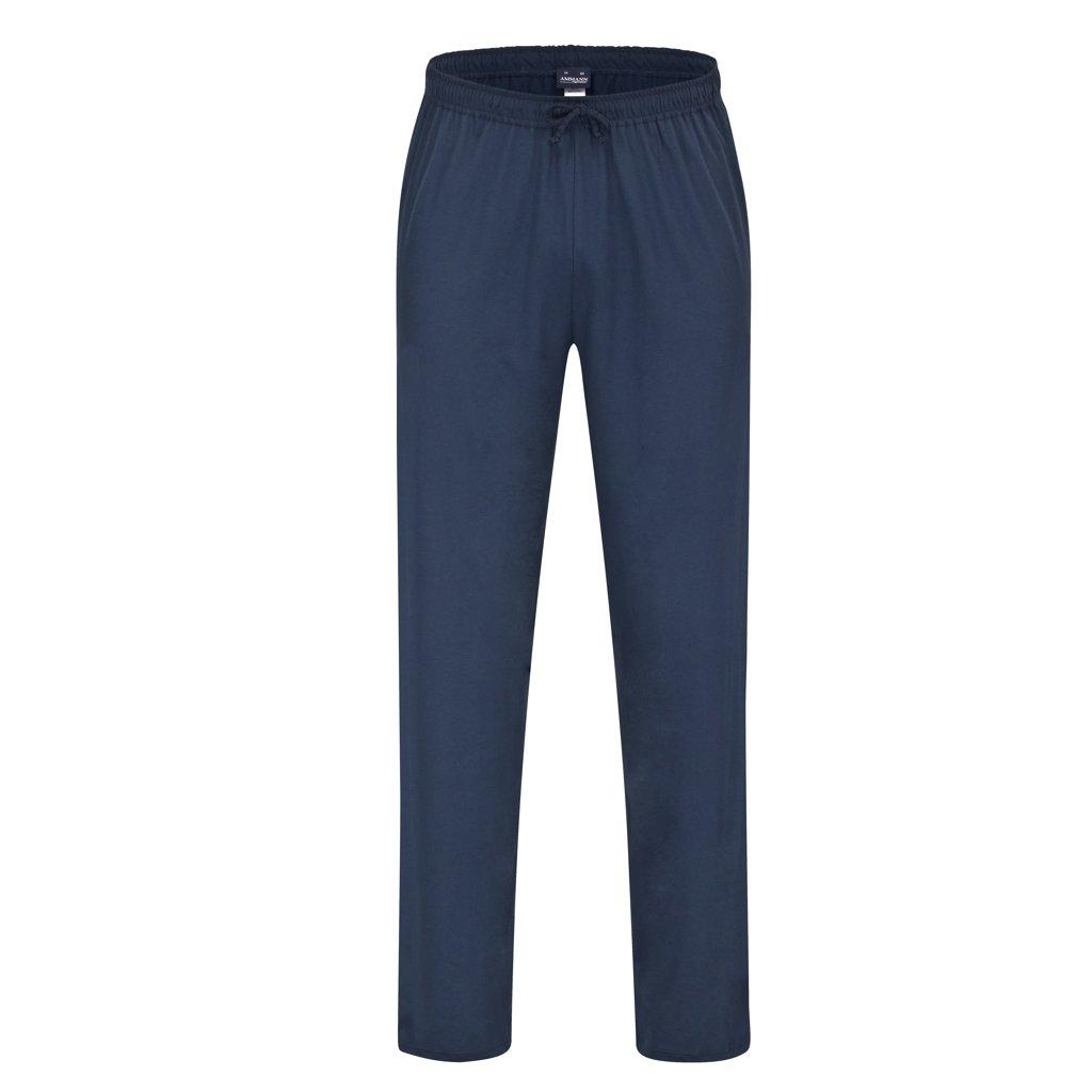 7b51f4015e Ammann - Herren Schlafanzug Mix & Match - frei kombinierbar - Hose kurz  oder lang - Shirt kurz oder Langarm - bis Größe 5XL (62) - 100% Baumwolle:  ...