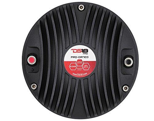 DS18 PRO-DRNEO 3-Inch Neodymium Magnet High Temperature Kapton 2-Layer Voice Coil Tweeter Driver, Set of 1