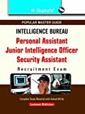 IB: PA/JIO/ (Grade-II)/Security Assistant Exam Guide (Popular Master Guide)