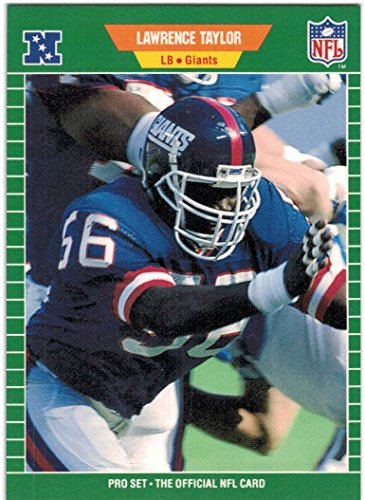 1989 Pro Set Series 1-2 & Update New York Giants Team Set with Lawrence Taylor & Phil Simms - 23 Cards