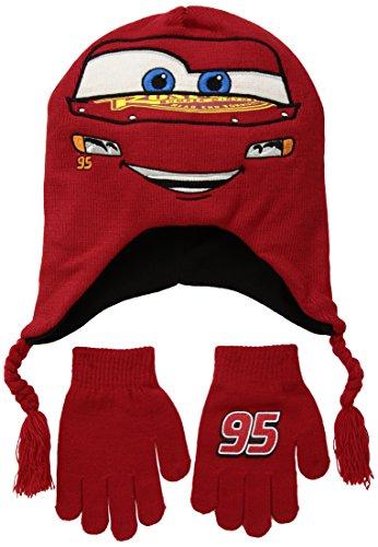 Disney's Cars Lightning McQueen Winter Beanie & Glove Set