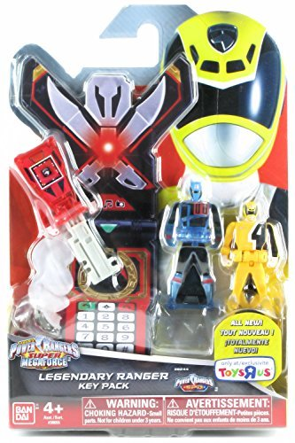 Bandai Power Rangers Super Megaforce Legendary Key Pack 38244 SPD Pack C (Power Rangers Morpher Spd compare prices)