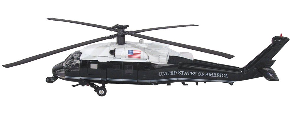 InAir Limited Edition Marine One VH-60N White Hawk Helicopter - 1:60 Scale