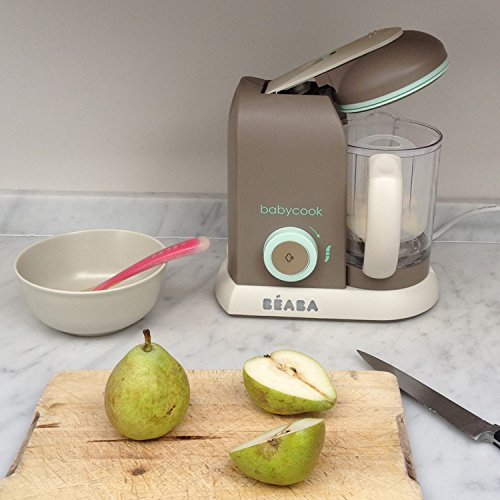 02985a5ded059 Amazon.com   BEABA Babycook 4 in 1 Steam Cooker and Blender