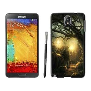 Custom Design Halloween Horror Nights Black Samsung Galaxy Note 3 Case 2