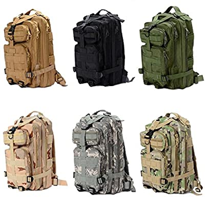 Outdoor Military Rucksacks Tactical Backpack Camping Hiking Trekking Bag