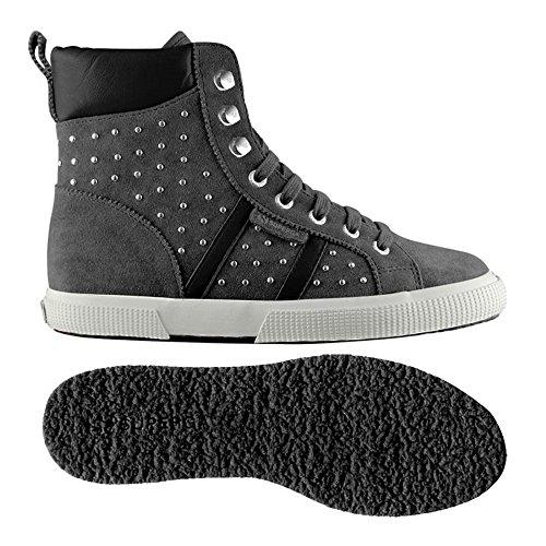 Botas - 2251-suesynleaw Grey Stone-Black