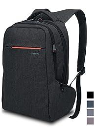 Laptop Backpack ,Multifunctional Unisex Luggage&Travel Bags Knapsack,rucksack Backpack Hiking Bags Fits Up to 15.6 Inch Laptop Macbook Computer,MacBook Air / Pro Retina Display Backpack in Black