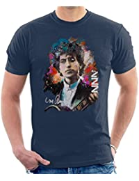 Original Portrait of Bob Dylan Men's T-Shirt