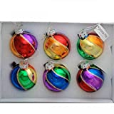 Gay Rainbow Sisters Christmas Pride Rainbow Beach Ball Ornaments