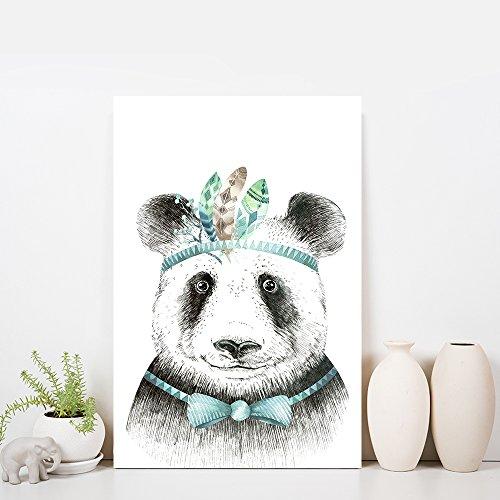 Animal Series Hand Drawing of a Panda