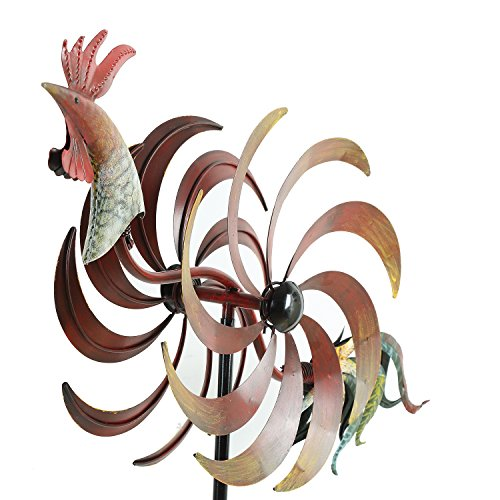 Rooster Wind Spinner