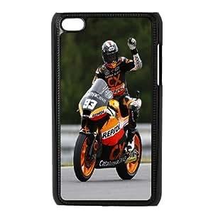 aqiloe diy Ipod Touch 4 Phone Case Marc Marquez F5U8267