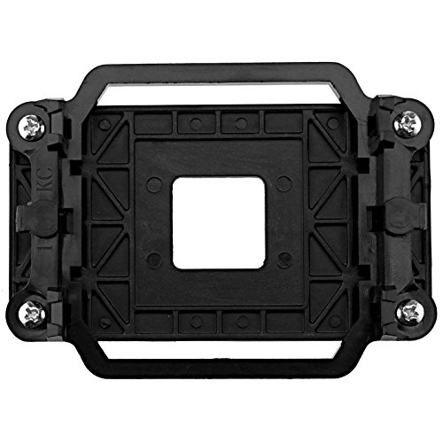 AMD CPU Cooling Fan Holder Bracket Mount Case For Socket AM2 AM2+ AM3 AM3+ 940, Black