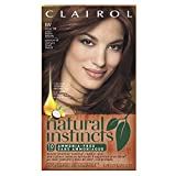 permanent Clairol Natural Instincts, 6W / 13B Spiced Cider Light Warm Brown, Semi-Permanent Hair Color, 1 Kit