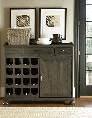 Universal Furniture Berkeley 3 Small Wine Cabinet in Brownstone (Cabinets Brownstone)