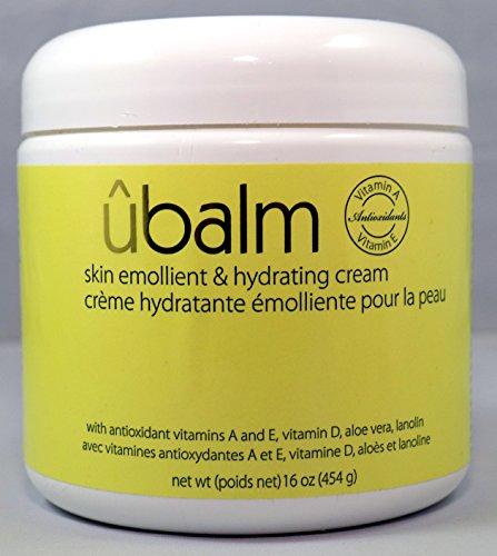 Ubalm yellow – skin emollient hydrating cream 16oz – the ultra hydrating udder balm for soft skin