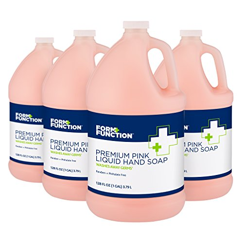 Form + Function Premium Pink Liquid Hand Soap, 1 gal, - Lotion Pink Soap Refill