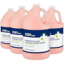 Form + Function 1000048589 Premium Pink Liquid Hand Soap (1 Gal, 4-Pack)